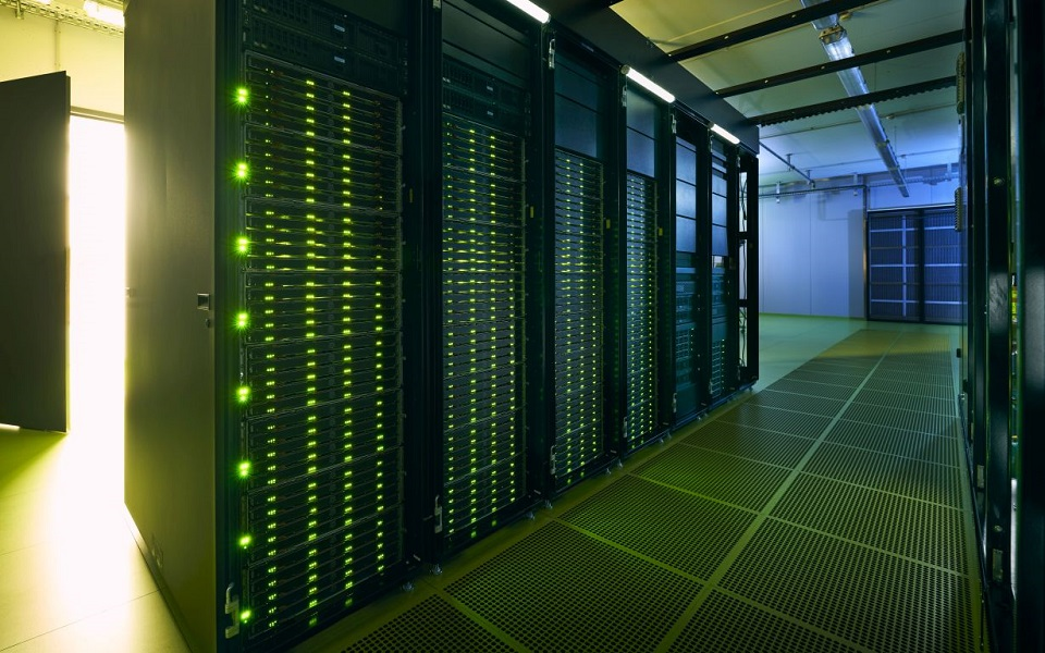 Bild des Supercomputers HoreKa.